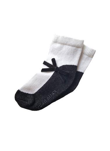 Katia & Bony Sindyrella Bebek Çorap - Sarı / Beyaz Siyah
